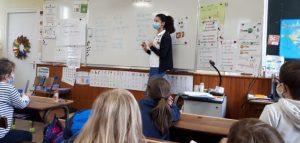 Maud et Watty à l'école - Sulniac 56